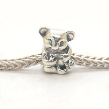 Authentic Genuine S925 Sterling Silver Koala Charm bead