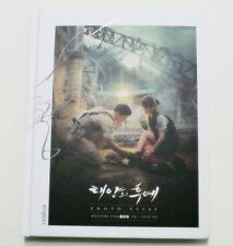 [Descendants of the Sun] Korea soap opera Photo Essay Book Hard Cover K-Drama
