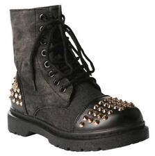 Studded Combat Boots | eBay