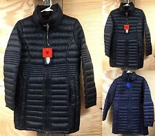 NWT WEATHERPROOF WOMEN'S THIGH LENGTH Puffer Coat with Premium Down Jacket