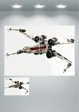 Star Wars X Wing Giant Wall Art Poster Print - A3 / A4 Sections or Giant 1Piece