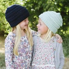 Newborn Kids Knitted Wool Hat Knit Crochet Cap Children's Beanie Winter Warmer