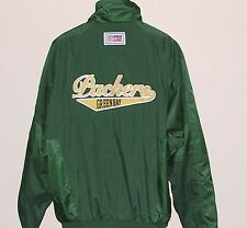 Vintage 90s Green Bay PACKERS REEBOK Light JACKET Back PATCH NFL ProLine NWT NOS