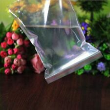 100x Plastic Seal Zip Lock Bags Resealable Clear Poly Reclosable Storage Bag