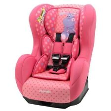 Nania Cosmo SP Luxe 0-4 YR Rear & Forward Facing Recliner Car Seat Pink Hippo