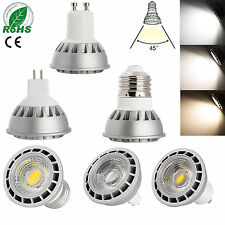 Dimmable LED Spot Light COB Bulb E27/GU10/MR16 15W CREE White Lamp Ultra Bright