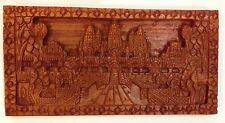 Sculptures / Statues - Hand Carved Wooden Angkor Wat Cambodia for home or office