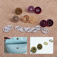 Hot 18mm Magnetic Snaps Closures Button Clasp Press Round fit Purse Craft Sewing
