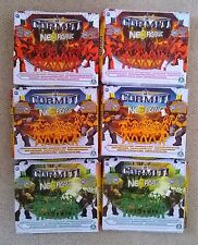 Gormiti Neorganic 30 x Mini Figures Earth or Forest or Volcano Tribes - BNIB