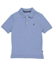 Nautica Little Boys' School Uniform Pique Polo (Sizes 4 - 7)