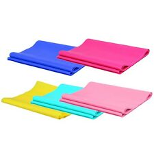 1.2m Elastic Yoga Pilates Rubber Stretch Exercise Band Arm Back Leg Fitness SG