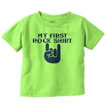 Rock Shirt New Parents Baby Shower Gifts Funny Saying Baby Toddler Infant  T
