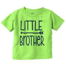 Little Brother New Parents Baby Shower Gift Funny Saying Baby Toddler Infant  T