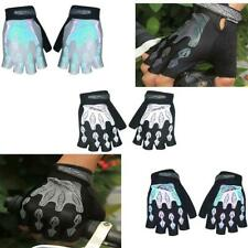 Outdoor Sports Hiking Camping Bike Bicycle Gel Pad Reflective Half Finger Gloves