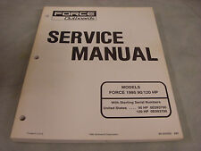 1995 FORCE 90/120HP Service Manual  #90-830565  4-5-2
