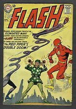 THE FLASH #138 VG+/FN AUGUST 1963 THE ELONGATED MAN & THE PIED PIPER