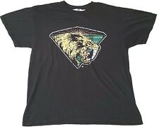 San Jose Sabrecats graphic t-shirt Russell Athletics AFL Arena Football sz M, L