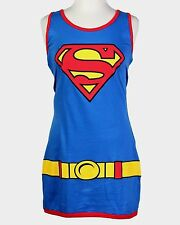 Superman Supergirl Junior Womens DC Comics Tank Dress