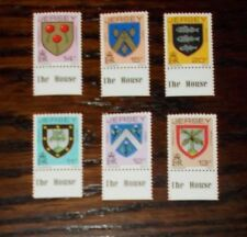 JERSEY MINT STAMPS ARMS OF JERSEY FAMILIES DEFINITIVES 28.7.81 - CHOOSE SET