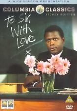 TO SIR WITH LOVE - 2000 DVD - UK SELLER - FAST POST SIDNEY POITIER MOVIE FILM