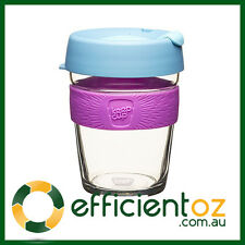 Glass Keep Cup KeepCup - Brew - Reusable Barista Grade Eco Coffee Lavender Lady