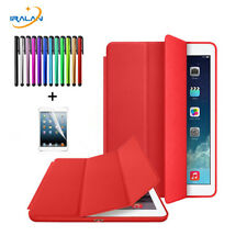 LEATHER MAGNETIC STAND SMART CASE COVER FOR IPAD Air 2 3 4 MINI PRO