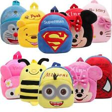 hot Toddler Children Boys Girl Cartoon Backpack Schoolbag Shoulder Bag Rucksack