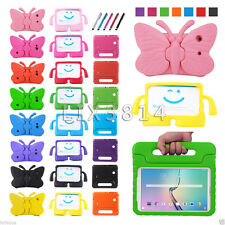 Kids Safty Soft EVA Foam Handle Stand Shock Proof Case Cover For Various Tablets