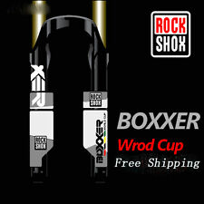 MTB mountain bike bicycle front fork stickers for ROCKSHOX BOXXER race decals