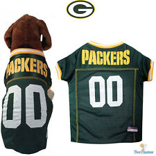 NFL Pet Fan Gear Green Bay Packers Dog Jersey for Dog Dogs XS-2XL XXL BIG SIZE