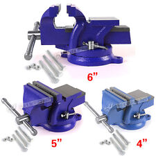 """6"""" 150mm Heavy Duty Work Bench Vice Vise Workshop Clamp Engineer Jaw Swivel Base"""