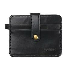 Men's Leather Money Clip Slim Wallet Purse ID Credit Card Holder Case Bag Pocket