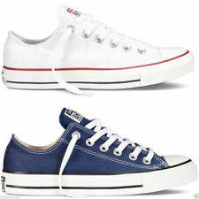 Converse Chuck Taylor All Star Lo Tops Unisex Canvas Trainers Navy White UK 2.5