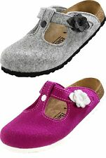 Betula Coleen Flower Textile Womens Shoes Slippers Mule Slip-On Shoes