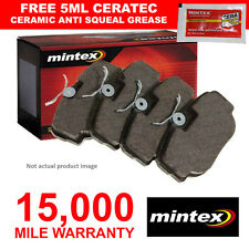 FRONT MINTEX BRAKE PADS SET FOR ALFA ROMEO GT MONTREAL SPIDER (1971-1977) NEW