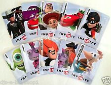 Disney Infinity Web Code Cards Assorted - You Choose ONE - New Unused