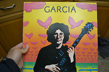Jerry Garcia Self Titled S/T LP 1974 Rounder textured cover Records EX