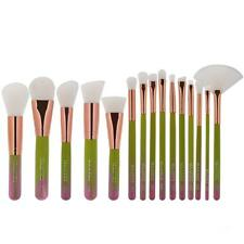 15x Makeup Brushes Set Powder Foundation Blush Eye Lip Blending Pencil Brush Kit