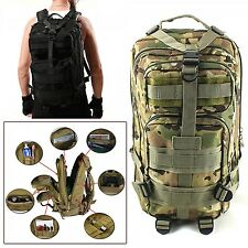 Bag Backpack Travel Rucksack Outdoor Military Army Tactical Backpack Sport New
