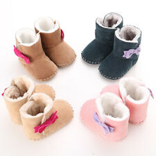 0-18M Infant Toddler Baby Girls Princess Shoes Cotton Padded Warm Boots Popular