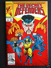 Secret Defenders #1,#2,#4,#6 NM  1993  High Grade Marvel   Lot of 4 Books