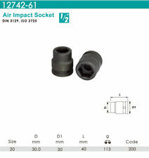 "Whirlpower - 1/2""DR.x 20mm Air Impact Socket - Automotive Tools NEW"