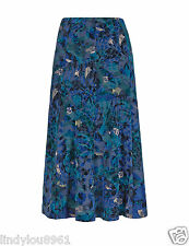 "Marks and Spencer Long Flocked Skirt-Size 16 L 39"" Bnwt"