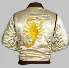 Drive Scorpion Satin Fitted Ryan Gosling Movie Jacket