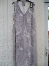 BNWT  GREY MIX LONG NIGHTDRESS  BY AUTOGRAPH @  MARKS & SPENCER SIZE 14