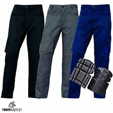 Delta Plus Panoply M2PAN Mach2 Cargo Combat Work Trousers Pants + FREE Kneepads