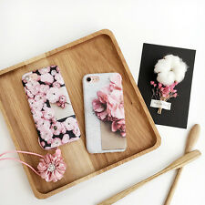 PRETTY Flower iPhone 6s 7 Plus Silicone slim case,For Women & Girls, Classy Cute