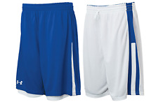 Under Armour mens Undeniable reversible Basketball Shorts  Royal / White Large