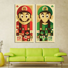 No Frame Mario Canvas Prints Modular Paintings Wall Pictures for Living Room