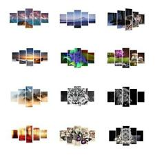 5Pcs/Set Painting PRINT Modern Abstract Art Wall Decor Canvas Unframed Decor